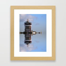 Sea Tower Framed Art Print