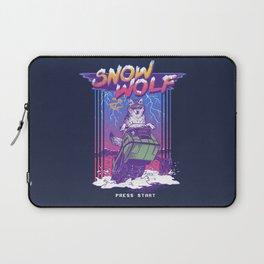 Snow Wolf Laptop Sleeve