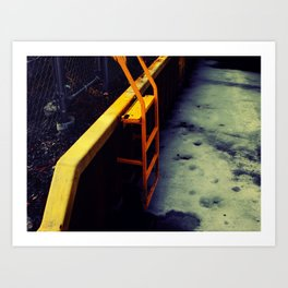 Ladder Art Print