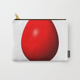 Egg Red Carry-All Pouch