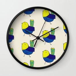 A Sunshine Bird Wall Clock