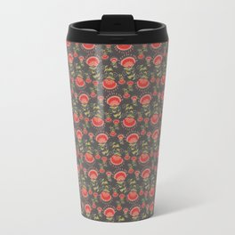 fresh floral sweetness in a vintage pattern Travel Mug