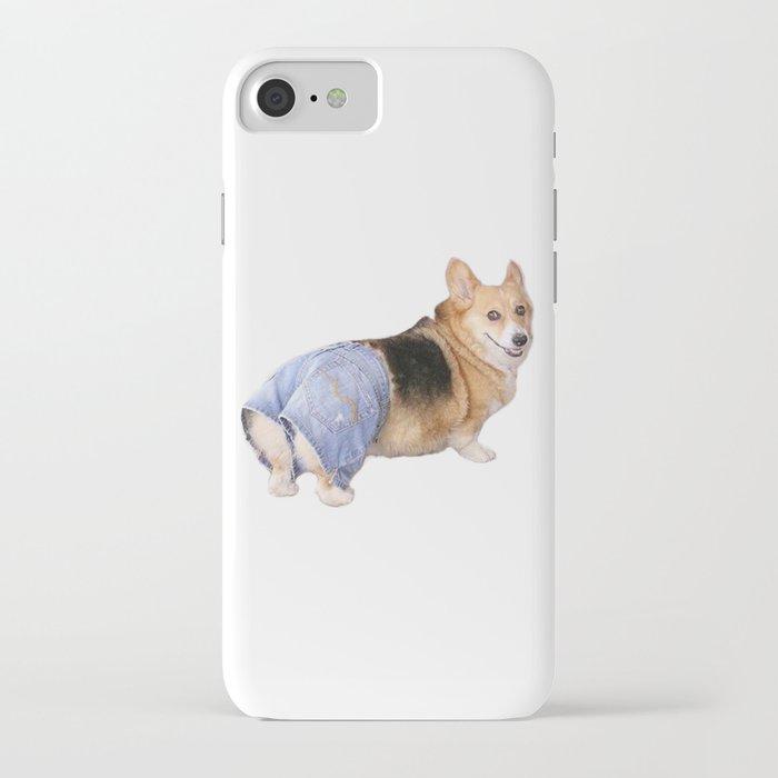 corgi, apple bottom jeans iphone case