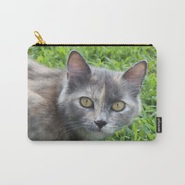Blue Cream Tortoiseshell Kitten Carry-All Pouch