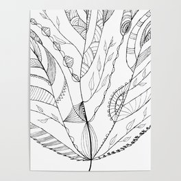 Amazing Leaves Poster