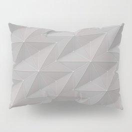 gray stars Pillow Sham