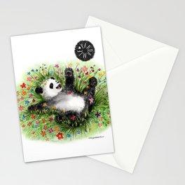 Pandamie - PandaFlowerPower Stationery Cards