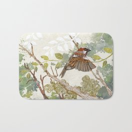 Flying away Bath Mat