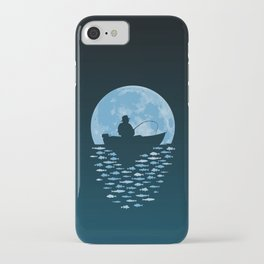 Hooked by Moonlight iPhone Case