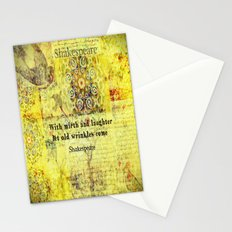 Shakespeare humorous quote  Stationery Cards