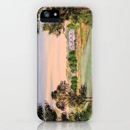 Hamilton Farm Golf Club Highlands Course 18th hole iPhone Case
