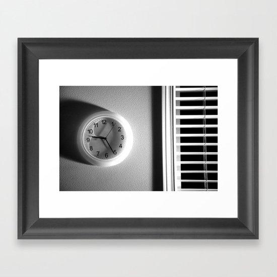 Adjust to Life Framed Art Print