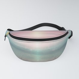 """Pink sky over blue sea Sunset"" Fanny Pack"