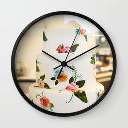 Eat More Cake Wall Clock