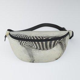 Zebra Art Fanny Pack