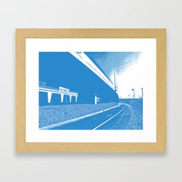 Bridge 5 Framed Art Print
