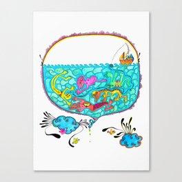 Pesca Milagrosa Canvas Print