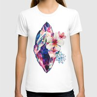 crystal T-shirts featuring crystal by Felicity Du