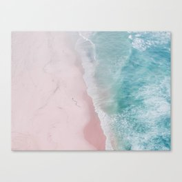 ocean walk Canvas Print