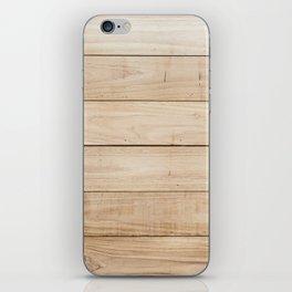 Wood plank texture 2 iPhone Skin