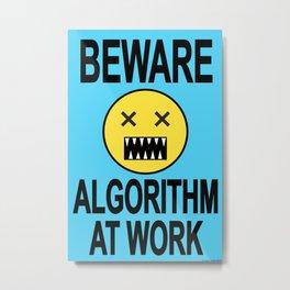Algorithm 01 Metal Print