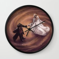Written In The Stars Wall Clock
