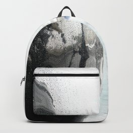 Rain - London, Thames, City Centre Backpack