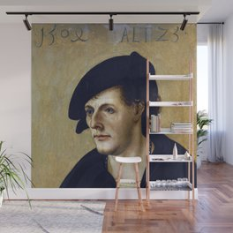 Hans Leonhard Schäufelein - Portrait of a Young Man Wall Mural