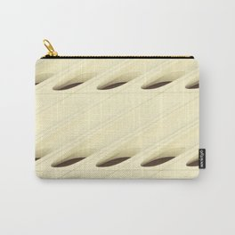 The Broad In the Afternoon Vintage Retro Pattern Photography II Carry-All Pouch