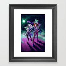 Halloween Time Framed Art Print