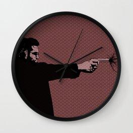 Kittappa Series - Red Wall Clock