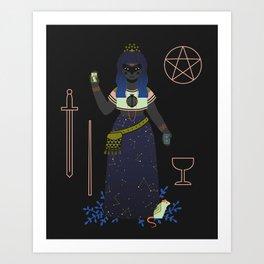 Witch Series: Tarot Cards Art Print