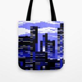 pxl cityscape Tote Bag