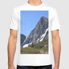 Mount Dana Mens Fitted Tee White MEDIUM