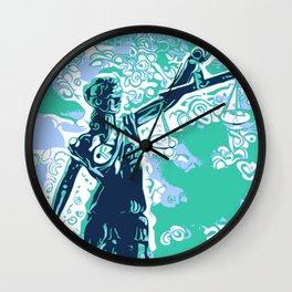 Iustitia Wall Clock