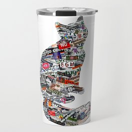 A cat can be much more than a cat! Travel Mug