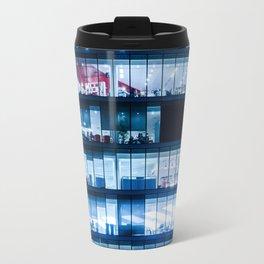 Offices at night Travel Mug