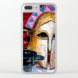 Glory of the heroic age Clear iPhone Case