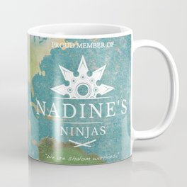 Proud Member of Nadine's Ninjas Coffee Mug