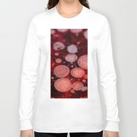 grease Long Sleeve T-shirts featuring Bacon Grease Blood Cells by Lyssia Merrifield