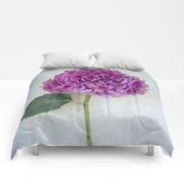 One Hydrangea II Comforters