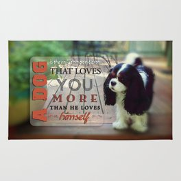 A Dog That Loves You Rug