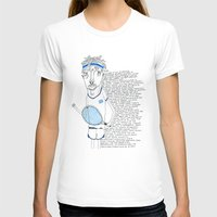 tennis T-shirts featuring Tennis by Andrea Forgacs