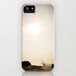 Stroll along the Beach iPhone Case