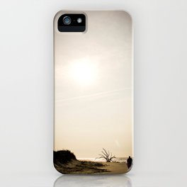 Stroll along the Beach iPhone Case