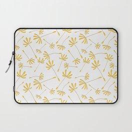 Dandelion Seeds // Papercut style, cascading pattern Laptop Sleeve