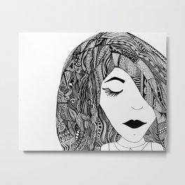 Layla Metal Print