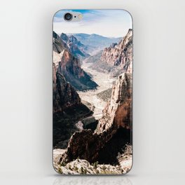Zion Canyon National Park iPhone Skin