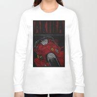 akira Long Sleeve T-shirts featuring AKIRA by Zorio