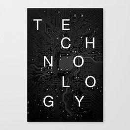 Technology Canvas Print